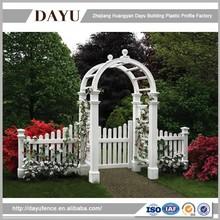 Beautiful Garden Decoration Outdoor Plastic Arch