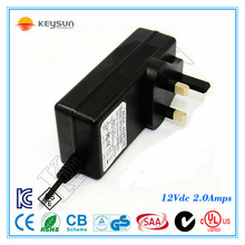 Wall mounted adapter 12v 3.5a uninterrupted switch mode power supply for massage chair