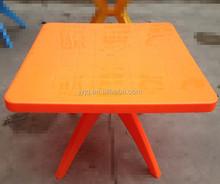 2014 Exclusive Design/Outdoor Portable Plastic Square Table