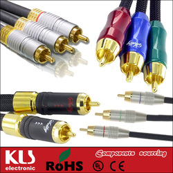 Good quality optical to rca cables UL CE ROHS 214 KLS