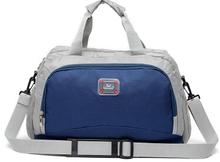 Cheap men Lighweight Travel Duffle Bag Foldable sports shoulder strap bag