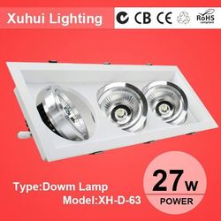 Xiaolan EMC ROHS Art galleries led spotlight and down light