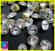 Wholesale Clear Crystal ss40 Point Back Asfour 888 Rhinestone For Women`s Clothing