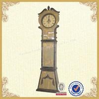 Antiqued luxury cheap floor clock