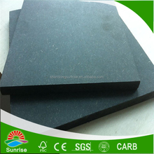 Shandong factory supply 18mm marine MDF Board with green color