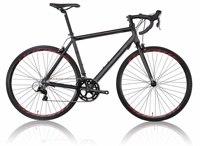 700C 16 speeds Black road bikes sports direct bike sale