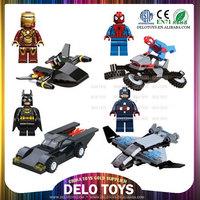 birthday gifts for boys child plastic building bricks assemble minifigures toys super heroes figures DE0203051