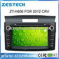 ZESTECH Para Honda CRV 2012 dvd del coche con GPS/bluetooth/Radio/RDS/IPOD/Wifi/3G/ISDB/TV para Honda CRV 2012 Dvd Gps del Coche
