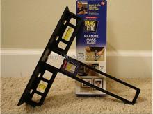 New useful home plastic hang rite measure tool spirit level Hang rite tool