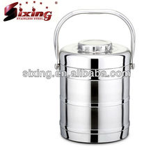 New Design Colorful Stainless Steel Food Container/Lunch Box/Tiffin Box