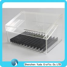 Defferent size of plexiglass e-juice display case, acrylic e-liquid display cabinet wholesale