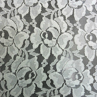 big pretty flower popular lace design good elastic lace fabric for curtain