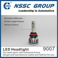 NSSC 3S series 9007 h4 h13 led headlight bulbs, for car auto motorcycle