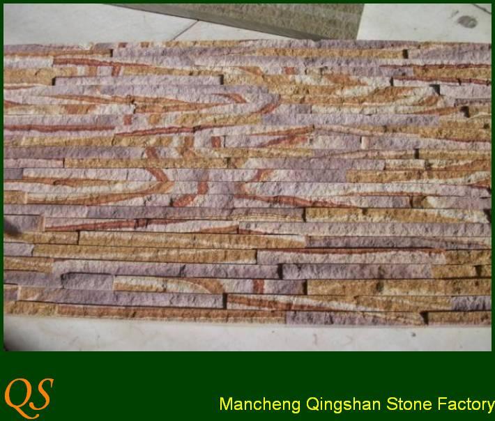 las paredes decoradas con piedra de la culturaPizarraIdentificación