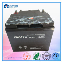 manufacture 12v 38ah ups battery agm batteries for ups with best ups price for Afganistan market