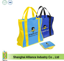 ECO Friendly Reusable Non Woven Folding Shopping Bag For Younger