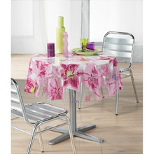 Colour Printed Tablecloth printed plastic tablecloth plastic coated tablecloths