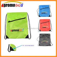 2015 Promotional small nylon drawstring bag