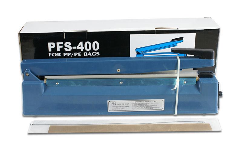 """Портативный и компактный размер 16"""" ручной 400 мм импульс тепла герметик поли мешок машина тефлон уплотнительное термоусадочной пленкой fs-400"""