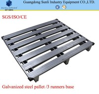 Industrial Rack 1200x1200 Logistic Stacking Stainless Steel Pallet