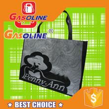 Luxurious personalized nylon tote bag