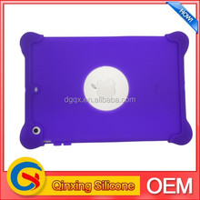 Silicone protective case for ipad mini customized design welcome