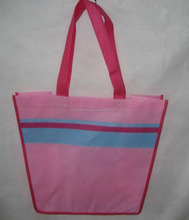 Colorful canvas shopping tote bags for dresses packing