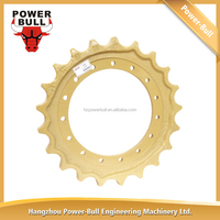 E120B Chain Sprocket Drive Wheel Sprocket For Excavator Undercarriage Parts