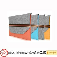 2015 Alibaba Hot Sale Classical Design Laser Cut Felt Computer Cases Made in China
