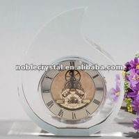 Crystal Table Clock As Crystal Wedding Gifts Souvenirs