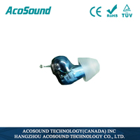 2015 hot selling Useful AcoSound Acomate 610 Instant Fit China Supplies Best Price ready to wear hearing aids