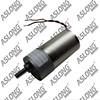 Aslong 12v-30v 24v electric vehicle brushless dc motor low noise with high quality 24 volt dc geared motor