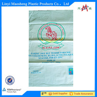 50kgs pp woven bag for food packaging