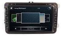 8 Inch HD TFT Screen VW Passat Auto Radio with GPS,Ipod,Bluetooth,SWC