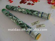 dollars party popper