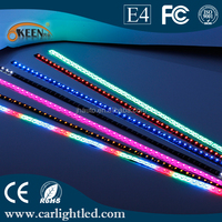 Wholesale 3528 LED 48 smd 60cm 12V Car Led Knight Rider Light Marquee LED Light for Christmas Holiday