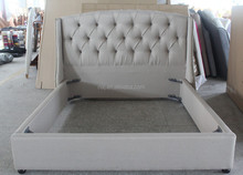 Modern fabric bed furniture with high quality, french style for bed bedroom