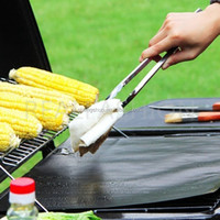 PTFE non-stick miracle BBQ grill mat , cooking mat BBQ cover