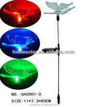 Colorful led Butterfly Solar Stake Light Yard Decor