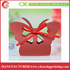 Red Butterfly paper Favour Boxes Weddings, Baby Shower Gift Box