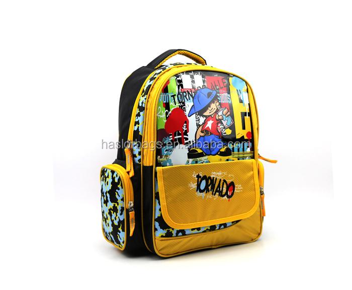2015 New Kids moderne sac d'école pour garçon