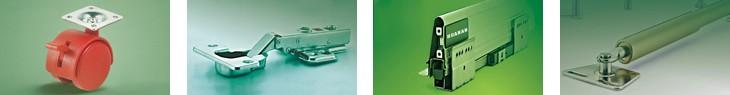 Des Échantillons gratuits SUS201 en acier inoxydable 35mm hydraulique charnière
