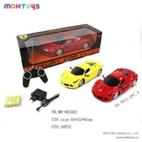 1:14 Scale Remote Control Car 4 Channel R/C Car With Light And Battery