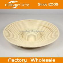 Factory wholesale 100% nature rattan handmade liner brotform proofing basket london