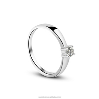 OUXI 925 silver indonesia wedding ring Y70047