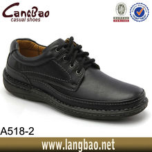 A518-2 2013 leather man shoes