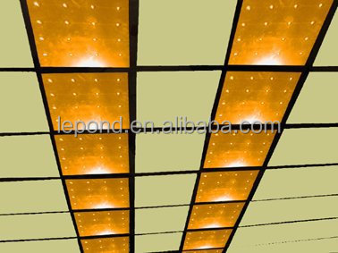 led lighted glass stage