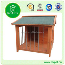 DXDH007 Premium Outdoor Large Cheap Wooden Dog Kennel