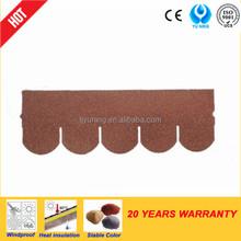 5-tab asphalt shingle