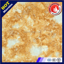 villa floor tiles Microcrystalline stone 800*800mm polished porcelain hot sale 3D ink-jet microcrystalline yellows